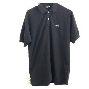 Lacoste Shirts - Classic Black Lacoste Polo